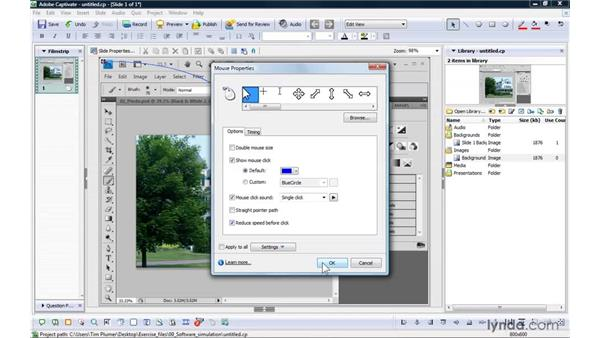 Creating simulations from scratch: Captivate 4 Essential Training