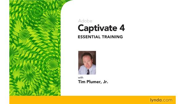 Goodbye: Captivate 4 Essential Training