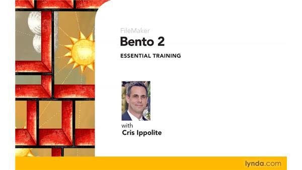 Goodbye: Bento 2 Essential Training