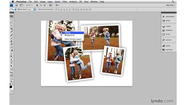 Context menus: Photoshop CS4 Power Shortcuts