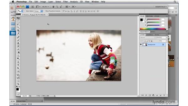 The Application frame: Photoshop CS4 Power Shortcuts