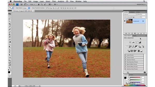 Panel management options: Photoshop CS4 Power Shortcuts