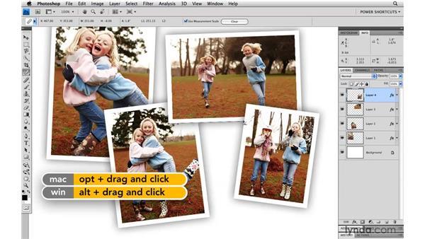 Measuring an angle: Photoshop CS4 Power Shortcuts