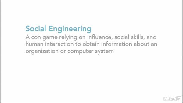Welcome: Ethical Hacking: Social Engineering