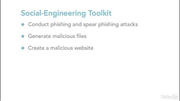 Social-Engineer Toolkit: Ethical Hacking: Social Engineering