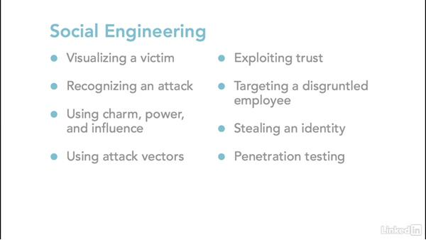 Next steps: Ethical Hacking: Social Engineering