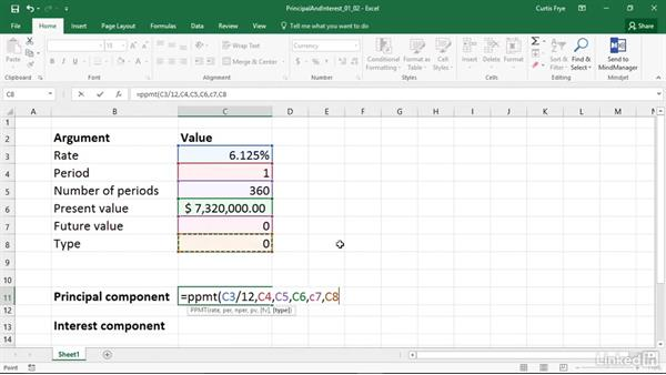 PPMT and IPMT: Calculating the principal and interest per loan payment: Excel 2016: Financial Functions in Depth