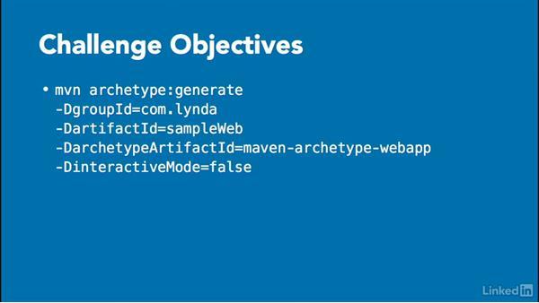 Challenge: Create a web app: Java Build Automation with Maven