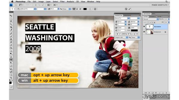 Leading keyboard shortcuts: Photoshop CS4 Power Shortcuts
