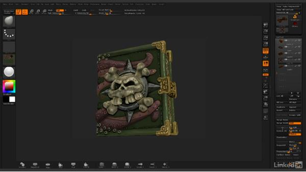Creating a beauty pass render outside of ZBrush: ZBrush: Rendering