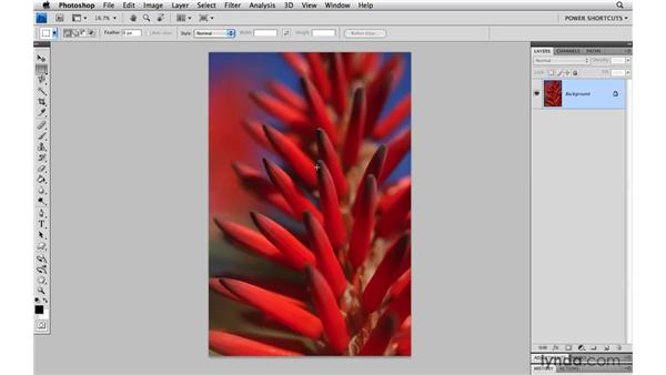 Converting a background layer: Photoshop CS4 Power Shortcuts