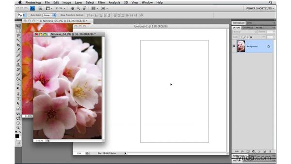 Duplicating layers across documents: Photoshop CS4 Power Shortcuts