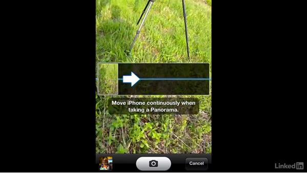 Shooting panoramas using an iPhone: Shooting and Processing Panoramas