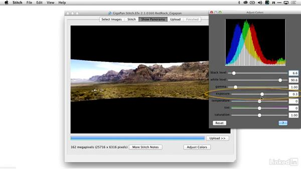 Merging the Gigapan panoramic photo: Shooting and Processing Panoramas