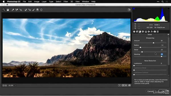 Using Photoshop filters and adjustment layers to enhance panoramas: Shooting and Processing Panoramas