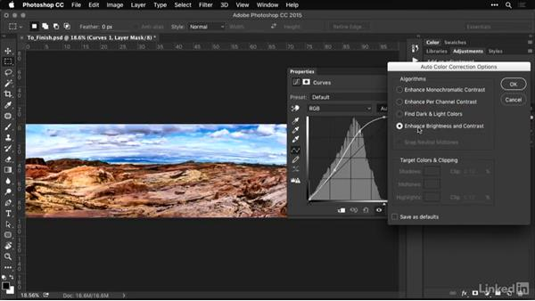 Improving contrast in panoramic photos: Shooting and Processing Panoramas