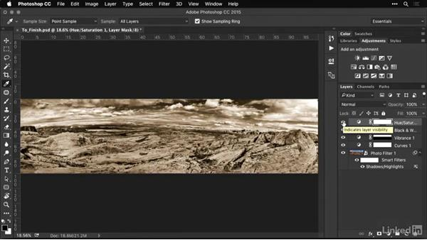 Converting panoramic photos to black and white: Shooting and Processing Panoramas