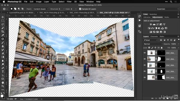 Sending to Photoshop for additional processing: Shooting and Processing Panoramas