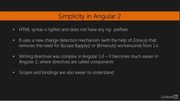 Looking at what's new in Angular 2: Migrating to Angular 2
