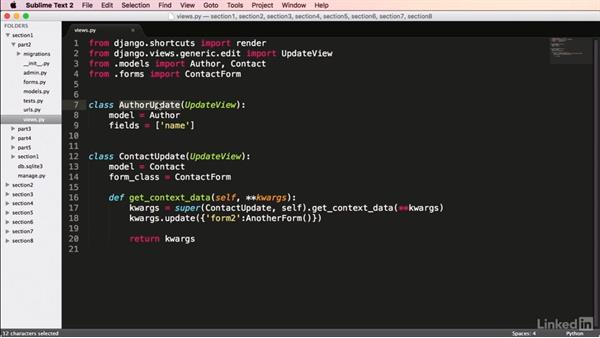 Extending class-based views: Mastering Django Web Development