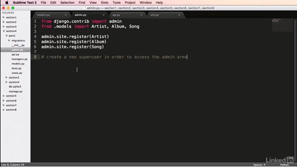 Using Tastypie to create a REST API: Mastering Django Web Development