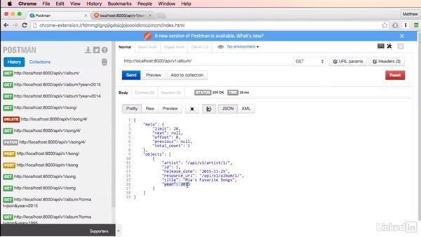 Complex queries with our API: Mastering Django Web Development