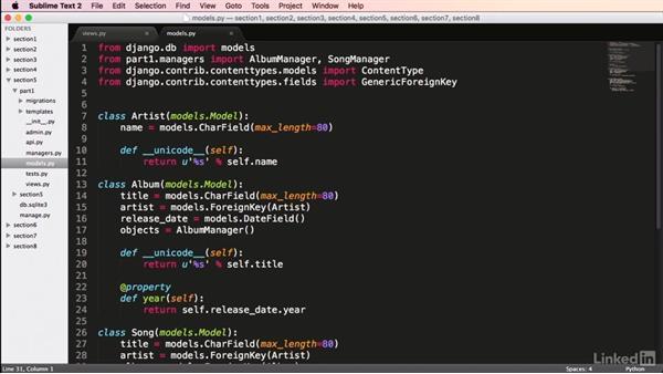 Generic relationships: Mastering Django Web Development