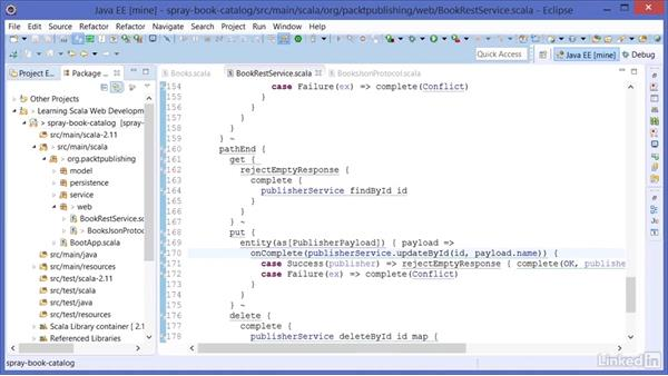 More Spray Routing: Learning Scala Web Development