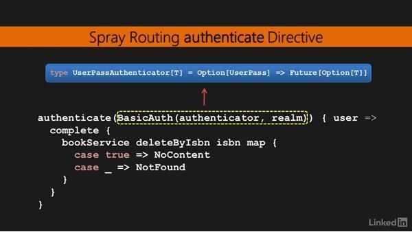 Authentication: Learning Scala Web Development