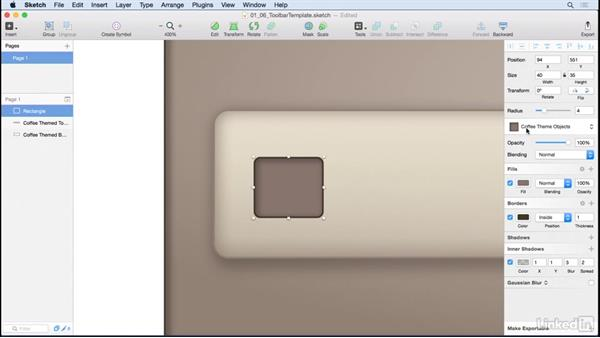 Create a vector icon with objects: Learn Sketch: Creating Vector Graphics