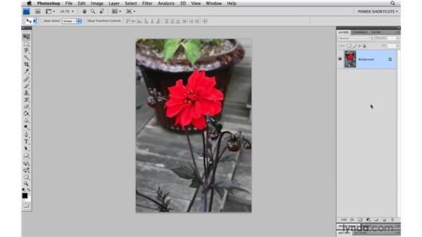 Working smarter by changing your keyboard shortcuts: Photoshop CS4 Power Shortcuts