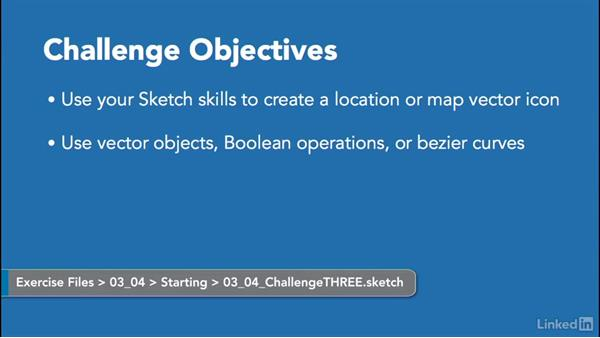 Challenge: Create a map location icon: Learn Sketch: Creating Vector Graphics