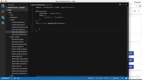 Attribute directives: Learning Angular 2 Directives