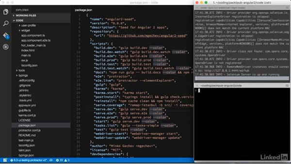 Testing Angular 2 components e2e: Learning Angular 2 Directives