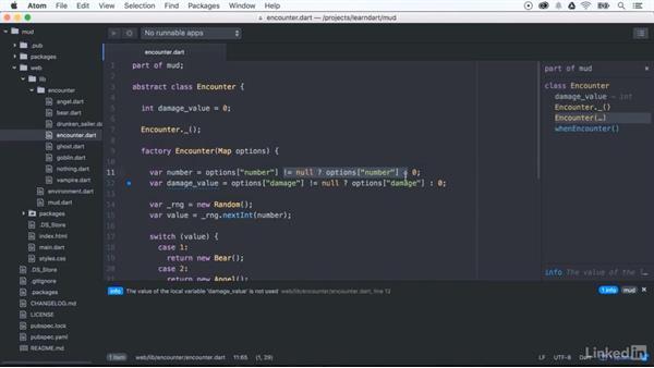 Null-aware operators: Learning Dart