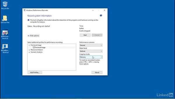 Gathering memory leak evidence: Setup: Windows Performance Toolkit: Detecting Memory Leaks