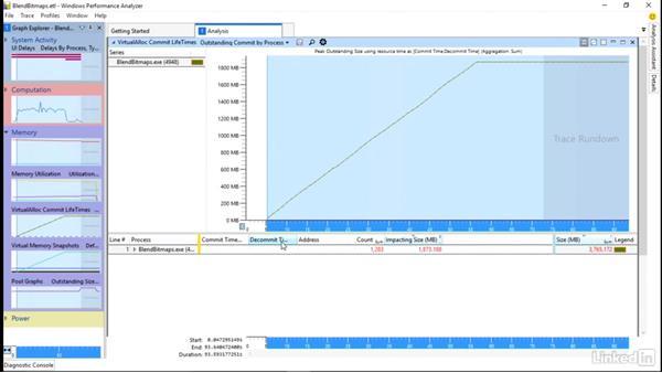Memory leak investigation: Part 1: Windows Performance Toolkit: Detecting Memory Leaks