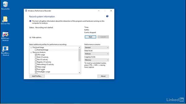 OpenCV application optimized: Windows Performance Toolkit: Detecting Memory Leaks