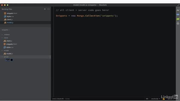 Creating your first app: Learning Meteor Application Development