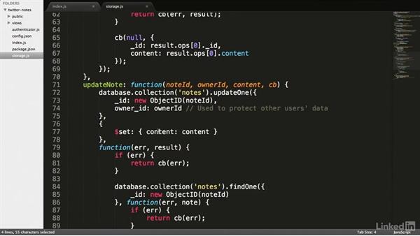 Creating the API handlers: RESTful Web API Design with Node.js