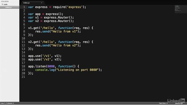 Versioning: RESTful Web API Design with Node.js