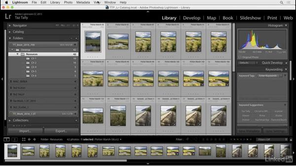 Customize the general interface: Lightroom: Customizing Tips and Techniques