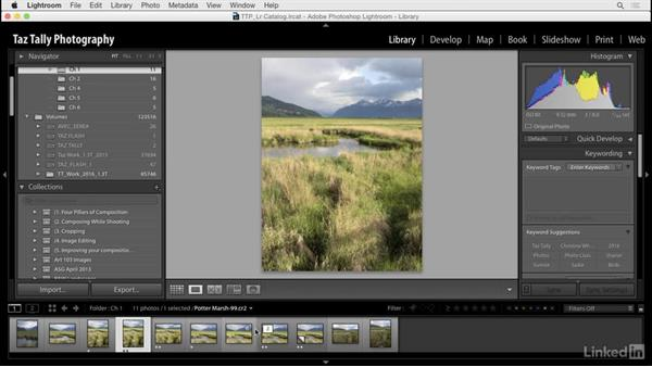 Customize the filmstrip: Lightroom: Customizing Tips and Techniques