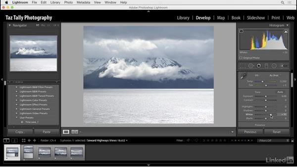 Customize the histogram: Lightroom: Customizing Tips and Techniques
