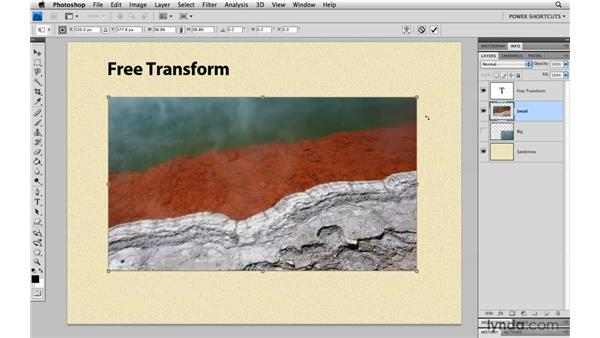 Distorting transformations: Photoshop CS4 Power Shortcuts