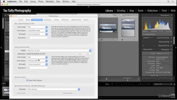 Customize Lightroom-to-Photoshop conversions: Lightroom: Customizing Tips and Techniques