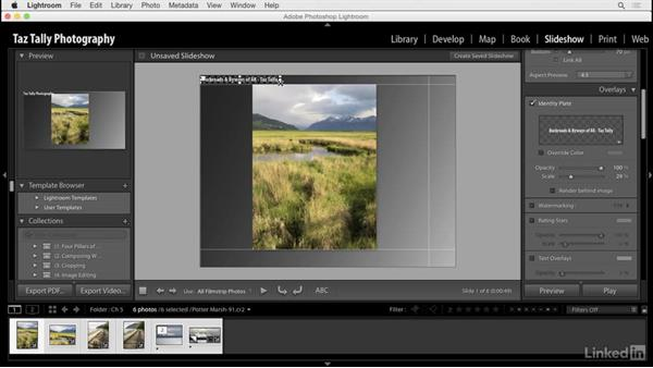 Using identity plates: Lightroom: Customizing Tips and Techniques