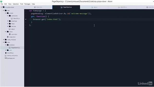 Configuring Karma for testing: Learning AngularJS Testing