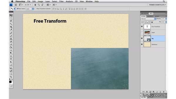 Nondestructive transformations: Photoshop CS4 Power Shortcuts