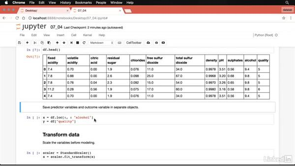 Regression analysis in Python: Data Science Foundations: Data Mining